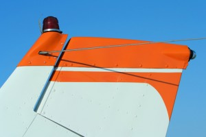 Small Airplane Tail